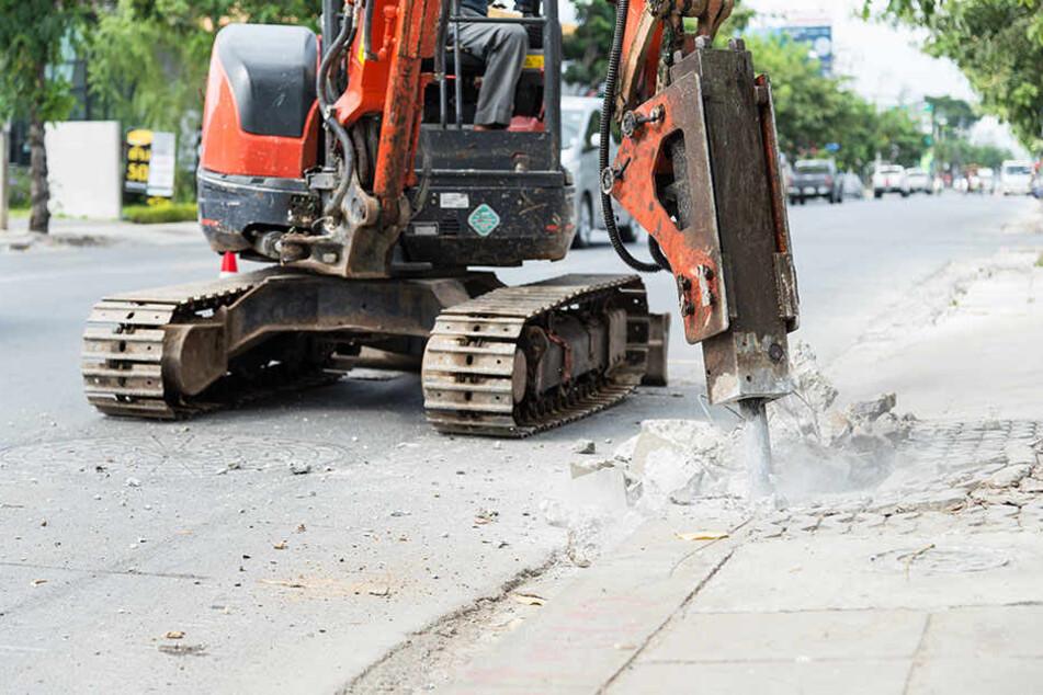 Zwei Baustellen im Zentrum sorgen am Donnerstag für Verzögerungen. (Symbolbild)