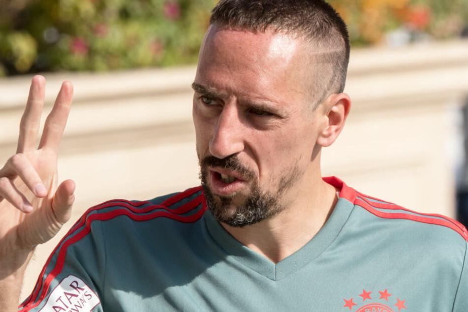 Der Franzose Franck Ribéry sorgte unlängst für große Aufregung. (Archivbild)