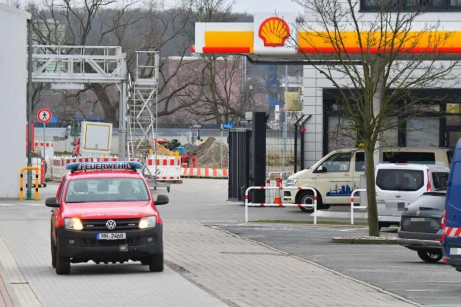 Vergangene Woche war eine Bombe auf dem Gelände der Shell gefunden worden.