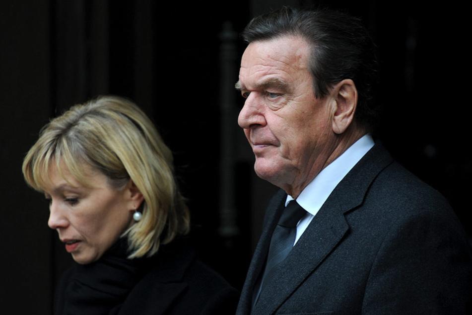 Waren 17 Jahre verheiratet: Doris Schröder-Köpf und Altkanzler Gerhard Schröder.