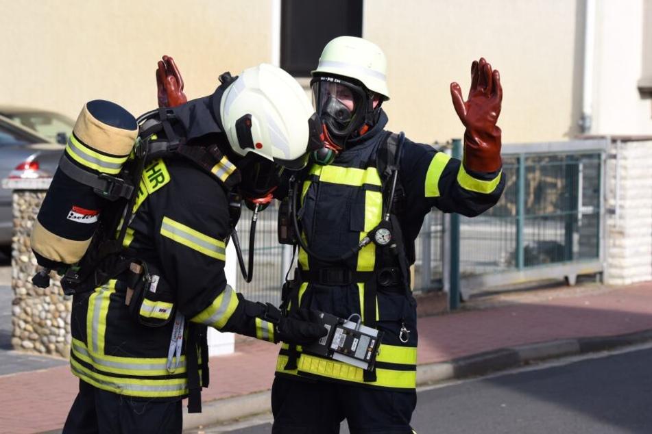Die Feuerwehr rückte an und löschte das Feuer. (Symbolbild)