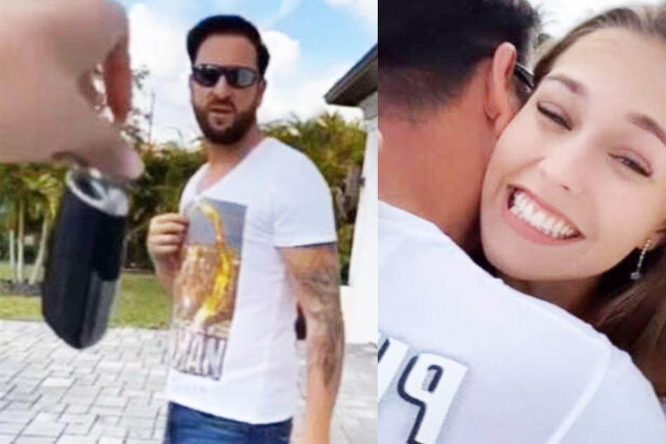 """""""Baaaaby, ich liebe Dich!""""-Video ist Fake! Laura Müller schenkte dem Wendler Luxus-SUV nicht"""