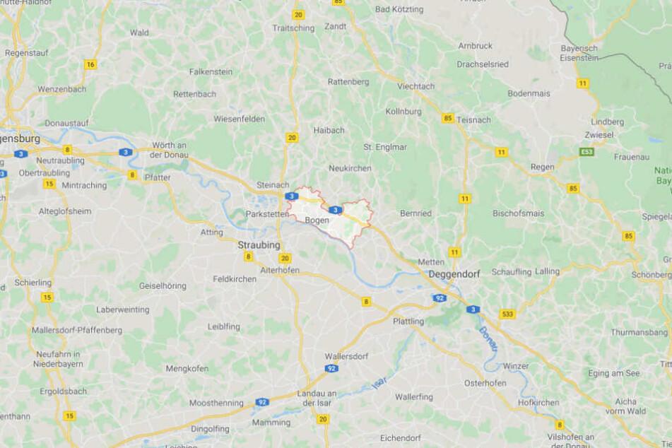 Der Vorfall ereignete sich in Bogen im niederbayerischen Landkreis Straubing-Bogen.