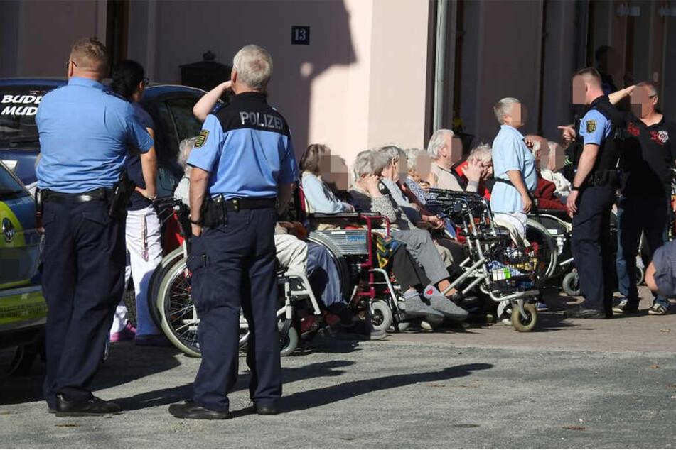 Am Dienstag erhielt ein Seniorenheim in Polenz eine Bombendrohung.