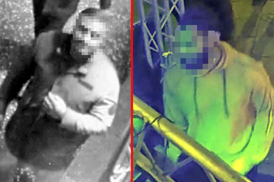 Die Polizei suchte nach diesen beiden Männern