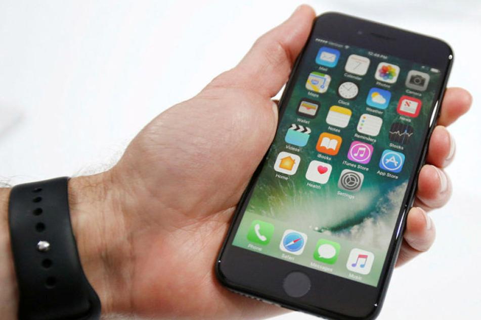 """Das neue Apple iPhone 7, auf dem """"Super Mario Run"""" zu spielen sein wird."""
