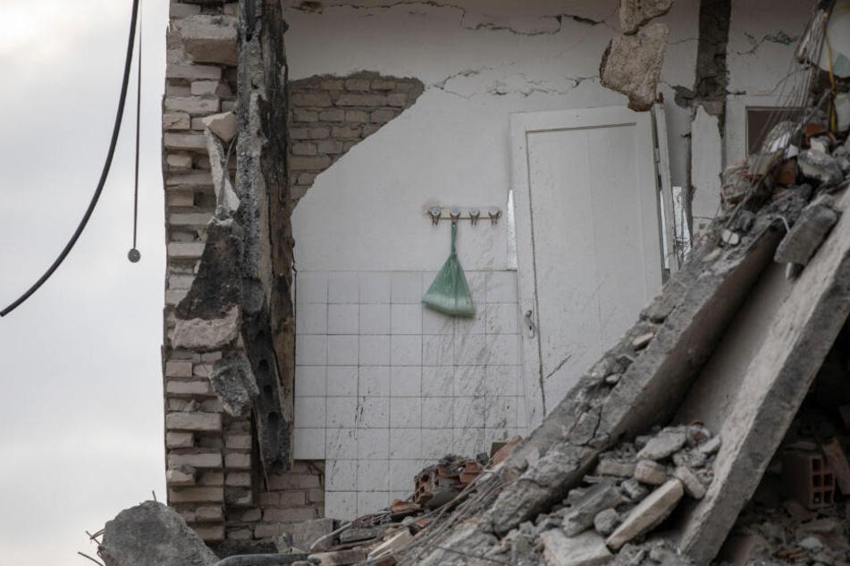 Erst Ende November haben schwere Beben in Albanien mehrere Dutzend Todesopfer gefordert (Archivbild).