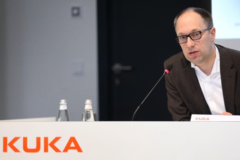 Peter Mohnen ist Interims-Chef des Roboterherstellers Kuka.