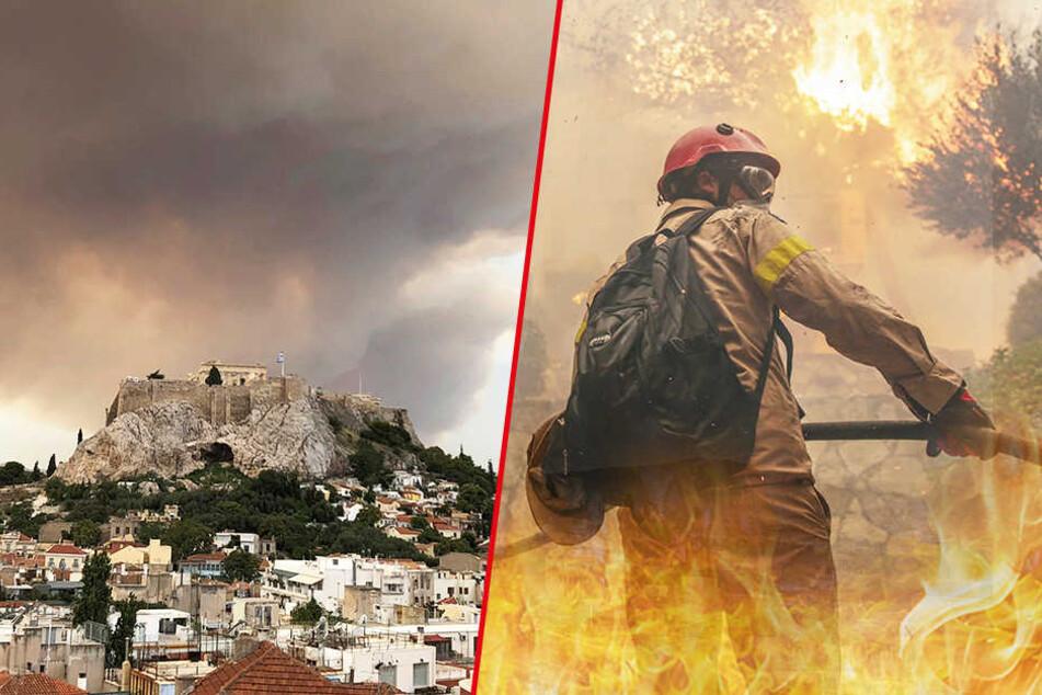Dutzende Tote bei Waldbränden nahe Athen: Anwohner soll Feuerhölle ausgelöst haben!