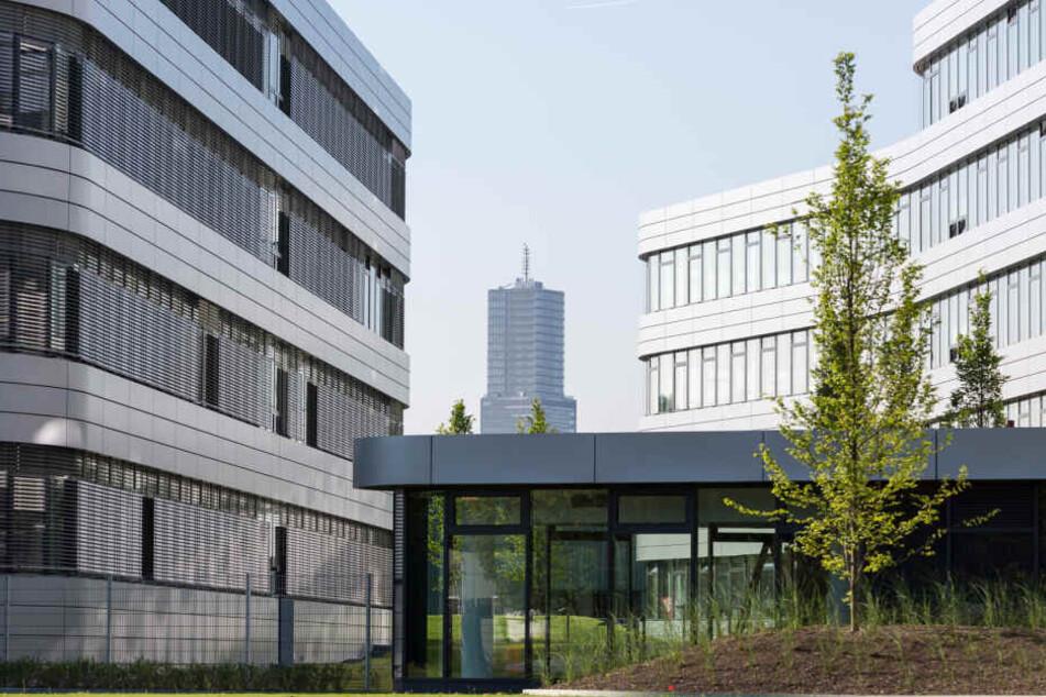 Das Verwaltungsgebäude von RheinEnergie.