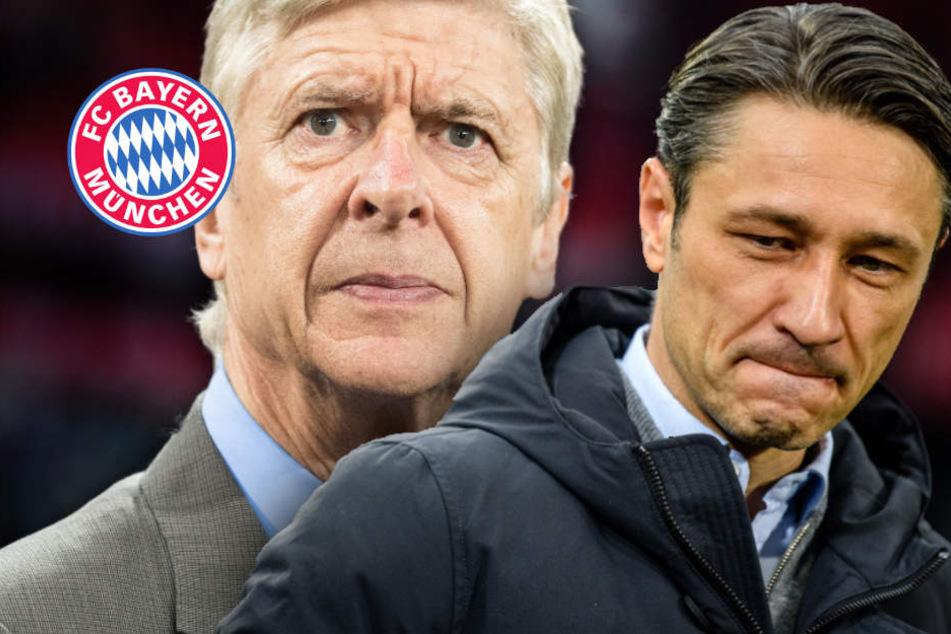 Wenger neuer Bayern-Coach? Spieler fallen offenbar Kovac in Rücken