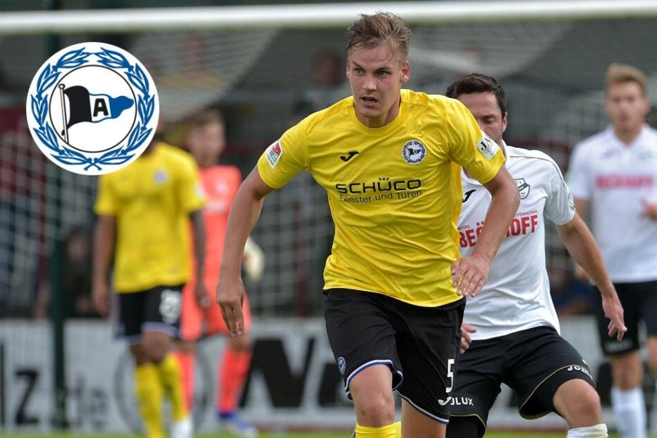 Arminia Bielefeld gibt Talent an Drittligisten ab