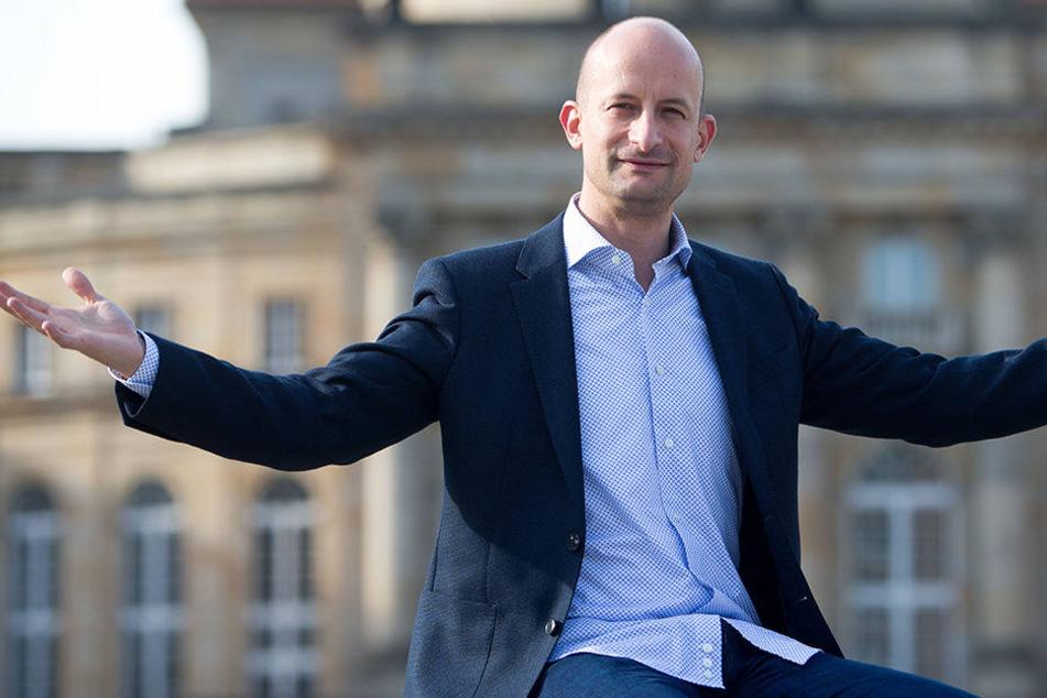 Guillermo García Calvo (39) ist Chemnitz' neuer Generalmusikdirektor. Er will wieder mehr Chemnitzer in die Oper locken.
