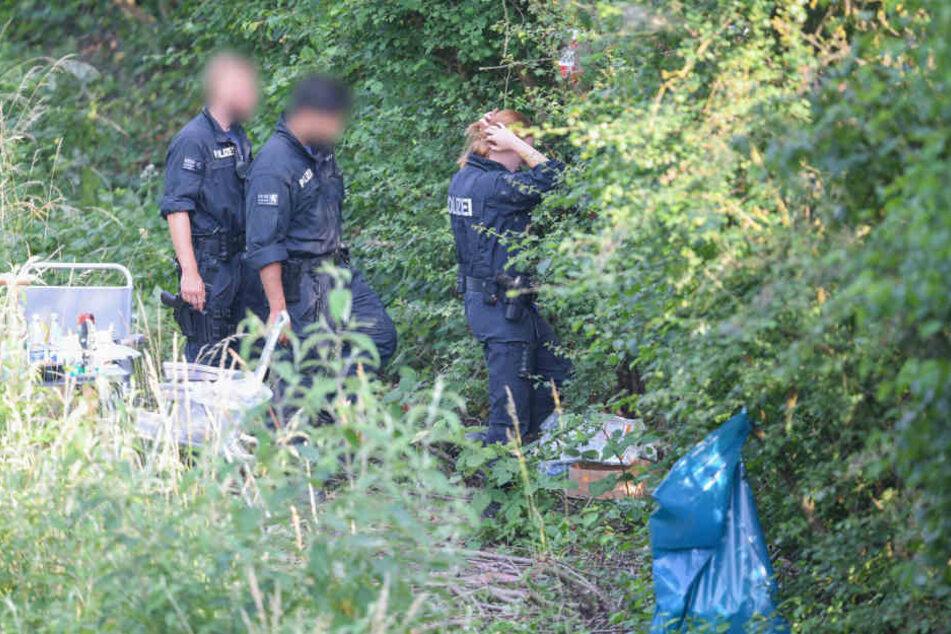 Die weibliche Leiche fanden die Ermittler am Mittwochabend in Wiesbaden-Erbenheim.