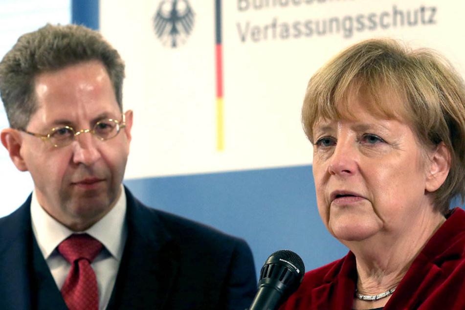 Angela Merkel hat Fehler im Fall Maaßen eingeräumt.