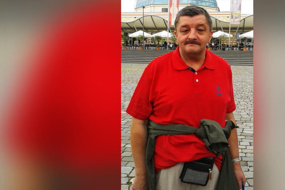 Die Polizei sucht den 62-jährigen Karl Schmidt.