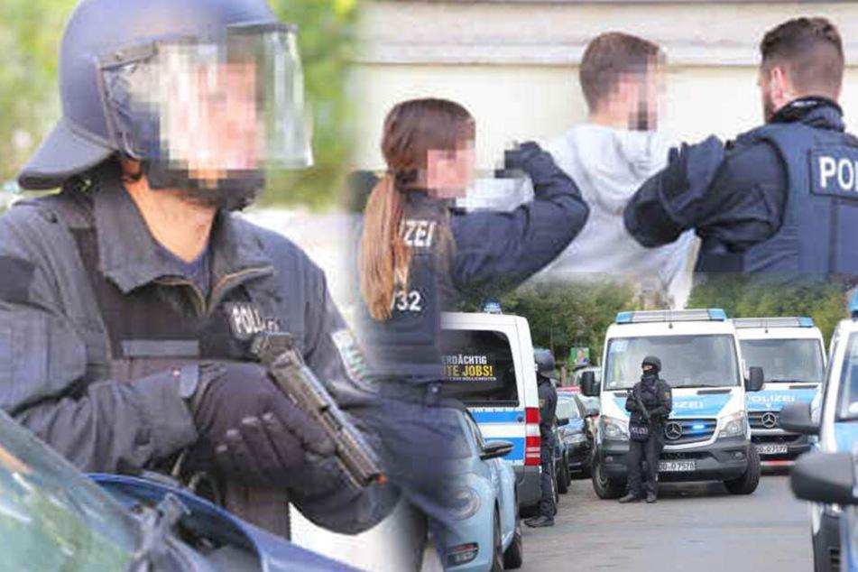 Hunderte bewaffnete Einsatzkräfte in Dresden! Was ist in Striesen los?