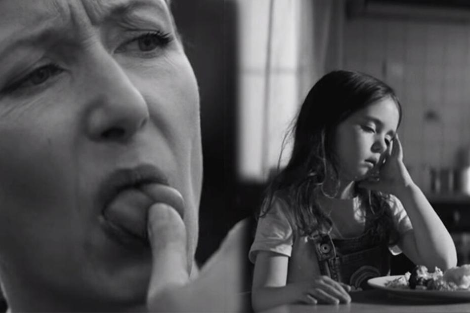Szenen aus dem neuen Vatertags-Spot, mit dem Edeka auf das vorangegangene Video zum Muttertag reagiert.