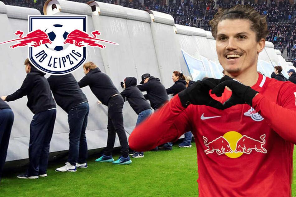 RB Leipzig dreht Rückstand und gewinnt Mauerfall-Duell in Berlin