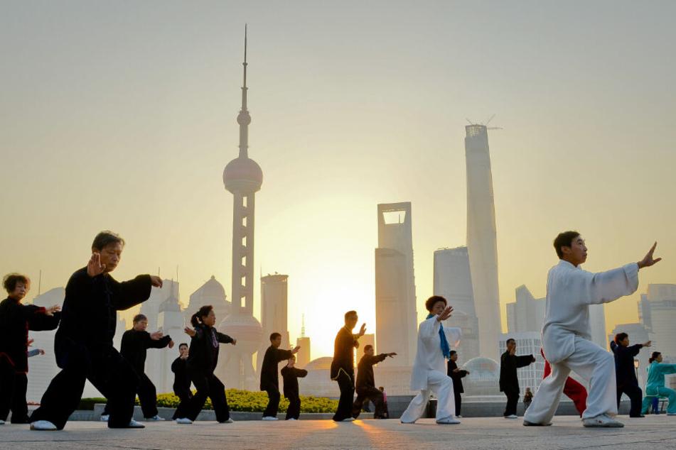 Wer nach China reist, um sich beispielsweise Shanghai anzusehen, sollte vorsichtig sein. (Archivbild)