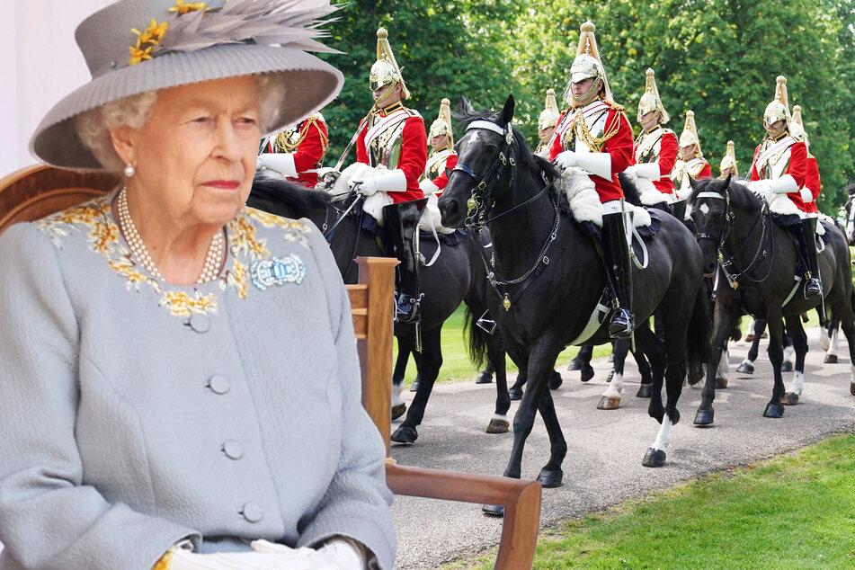 Mit abgespeckter Parade: So feierte die Queen ihren 95. Geburtstag
