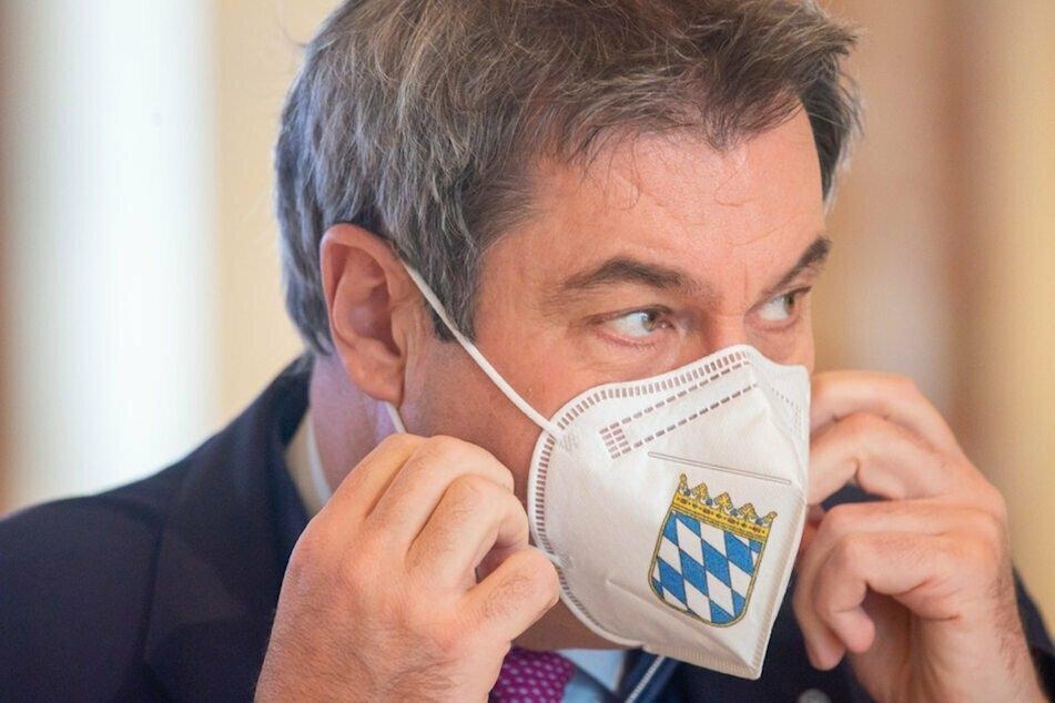 """Bayerns Ministerpräsident Markus Söder verlangt das einheitliche Durchsetzen einer """"harten Notbremse"""". (Archiv)"""