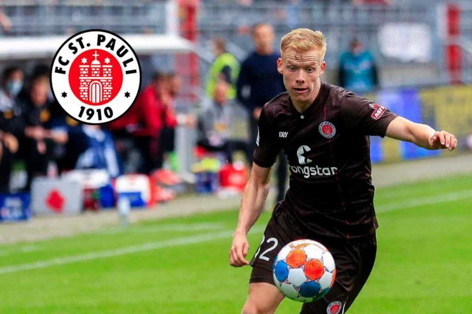 """St.-Pauli-Youngster Wieckhoff wieder bei 100 Prozent: """"Kann nur meine Leistung beeinflussen"""""""