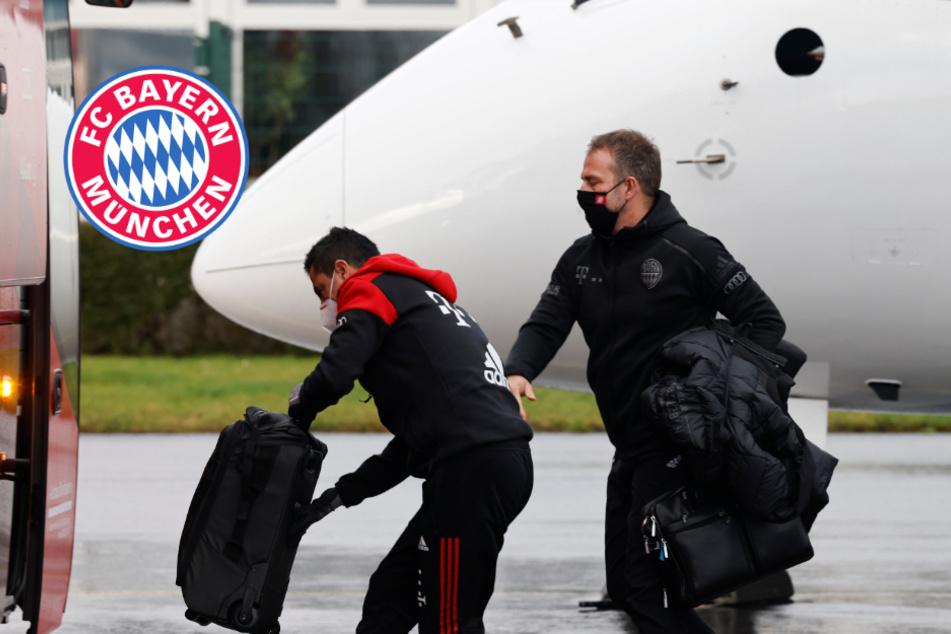 FC Bayern hängt ewig am Berliner Flughafen fest und muss dann zurück nach München