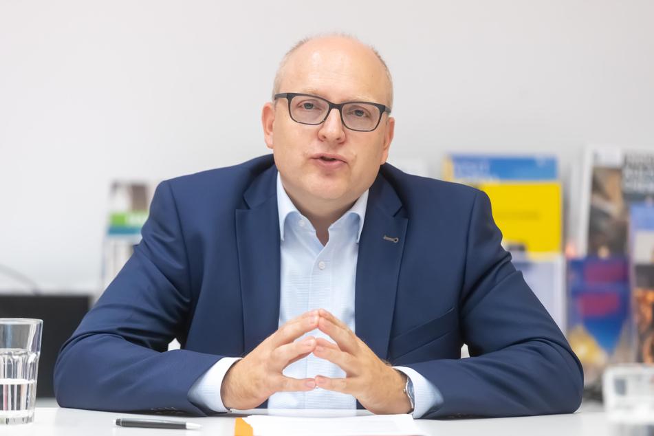 Die SPD müsste ihren OB-Kandidat Sven Schulze (47) in einer Versammlung erneut wählen. Foto: Uwe Meinhold