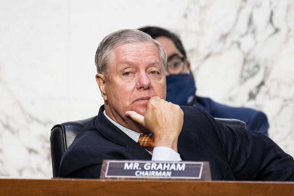 Republican Senator Lindsay Graham suggested that the coronavirus relief bill would pass on Monday.
