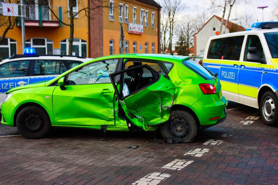 Im brandenburgischen Leegebruch ist es zu einem schweren Unfall gekommen.