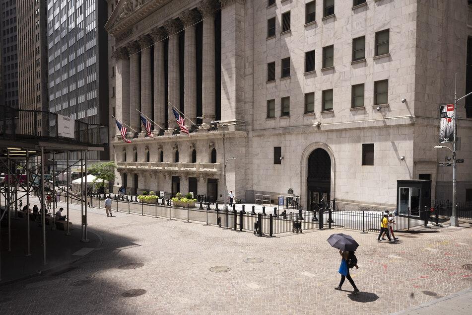 Zu Corona-Zeiten ist an der New Yorker Wall Street nicht viel los.