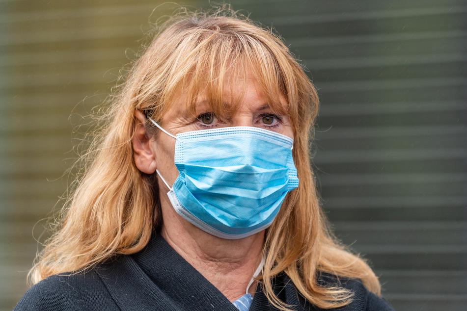Petra Köpping (SPD), Gesundheitsministerin von Sachsen.