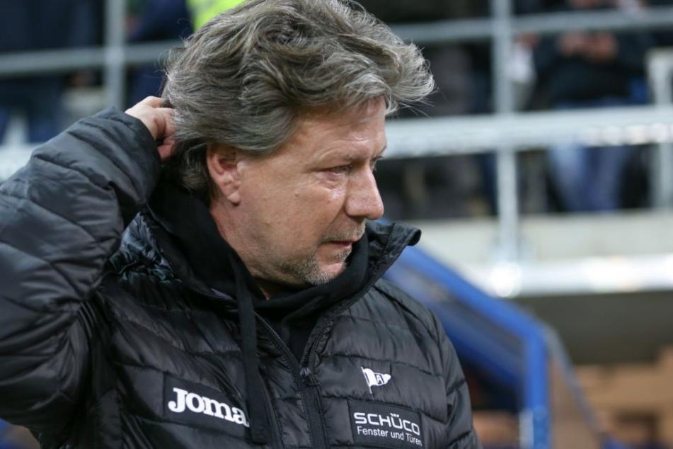 Jeff Saibene wurde als Trainer von Bielefeld entlassen.