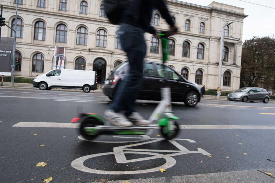Seit ihrer Zulassung Mitte Juni Sorgen die E-Scooter in den deutschen Städte immer mehr für Probleme.