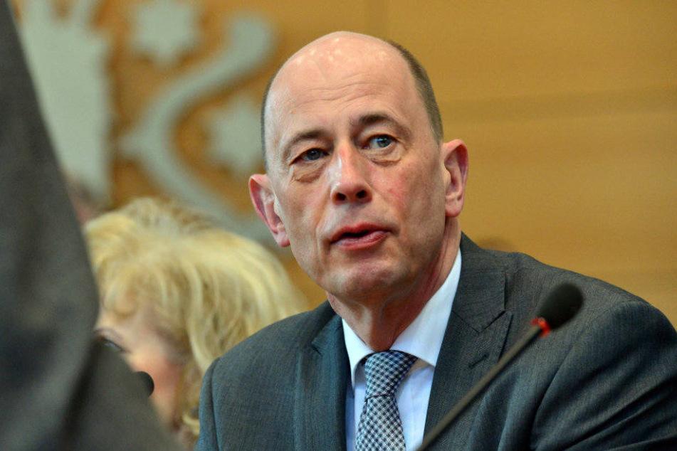 Wolfgang Tiefensee soll Erfurts Oberbürgermeister Andreas Bausewein folgen.