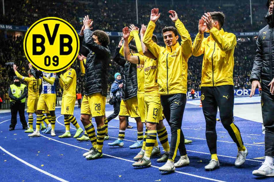 BVB: So retteten Dortmunds Spieler ihrem Coach Lucien Favre den Job