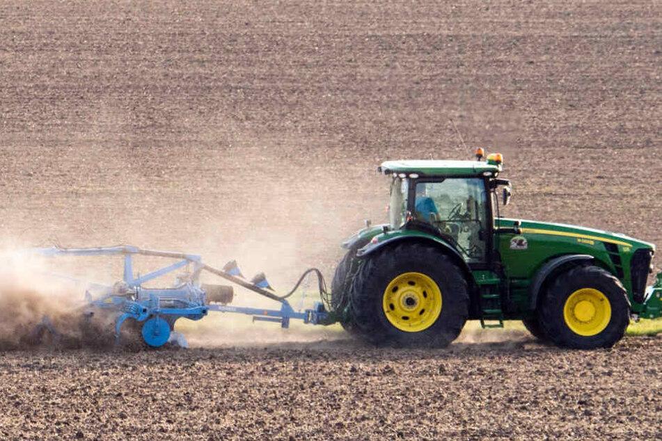 Ab sofort pflügen die Bauern wieder ihre Felder und verteilen Dünger. (Symbolbild)