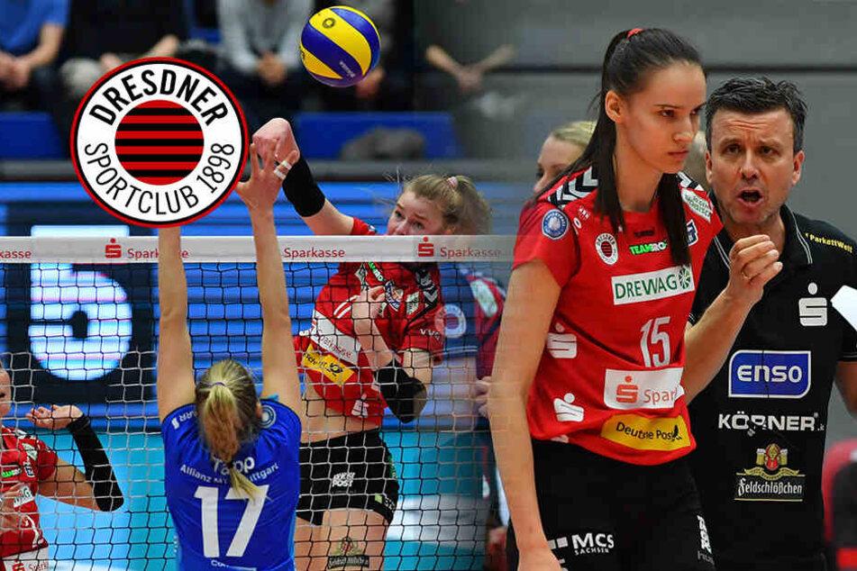 Dresdner SC: Super gekämpft, geführt und doch verloren
