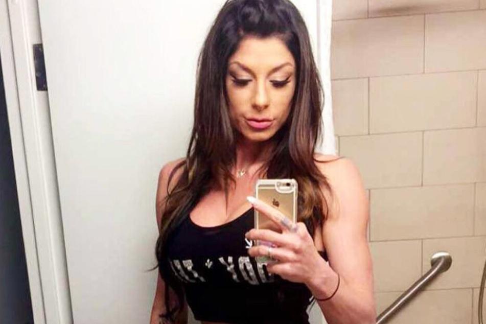 Lindi Lee Nunziato (31) auf einem Insta-Selfie von 2016.