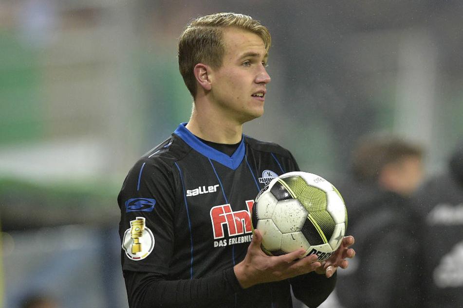 Lukas Boeder netzte zur 1:0-Führung ein.
