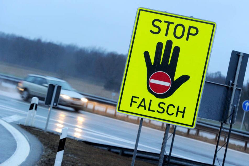 Falschfahrer (87) lässt sich nicht aus der Ruhe bringen und fährt einfach immer weiter