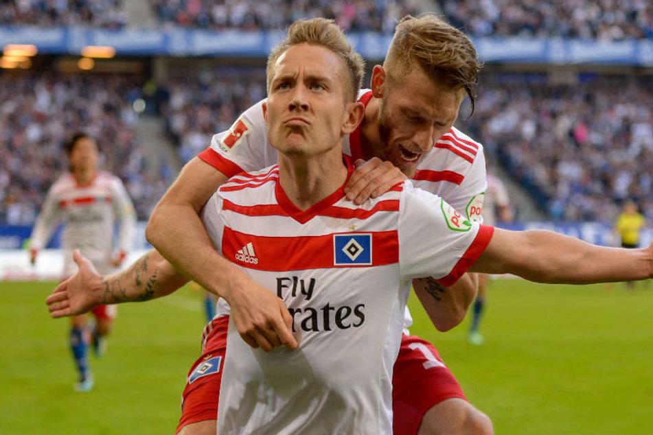 Lewis Holtby konnte für den HSV gegen den SC Freiburg einen Treffer erzielen.