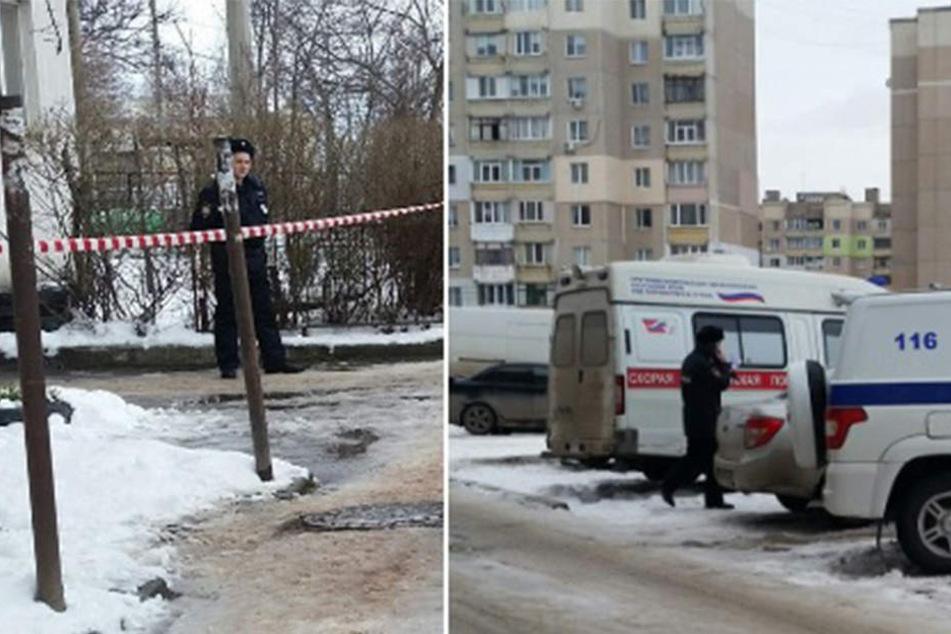 Die Tragödie ereignete sich in einem Wohnhaus in Balaklavskaya 81 in Simferopol.