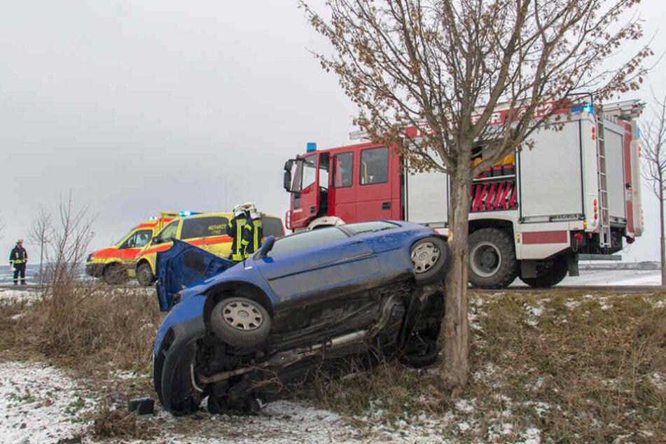 Am Montagnachmittag kam es zu einem schweren Verkehrsunfall auf der K5001.