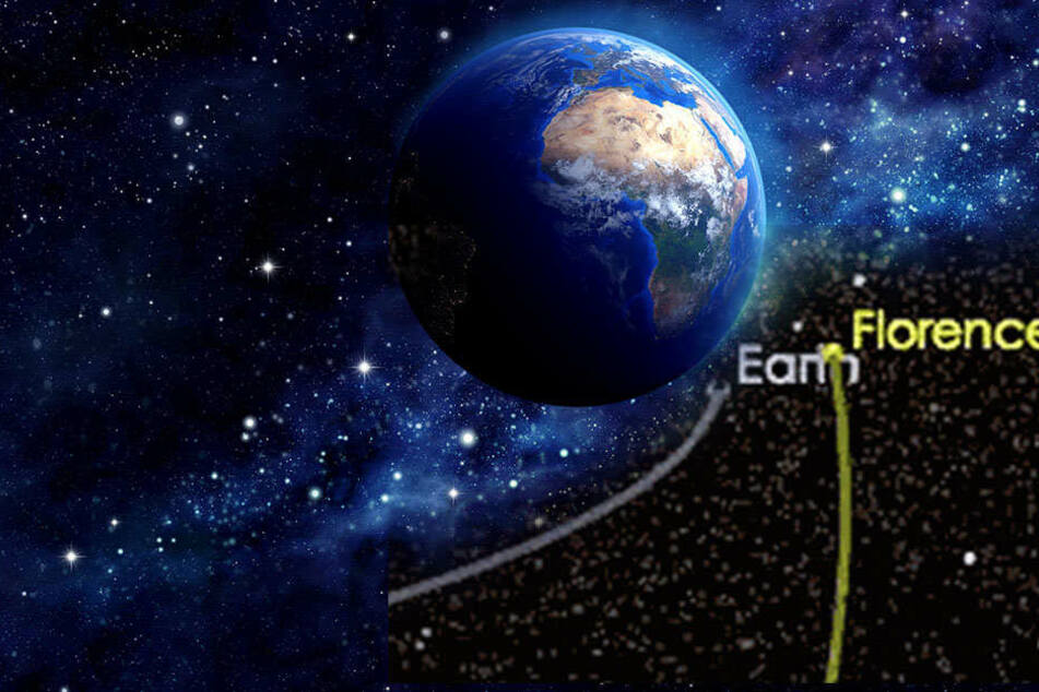 Heute Nachmittag! Riesen-Asteroid rast an Erde vorbei