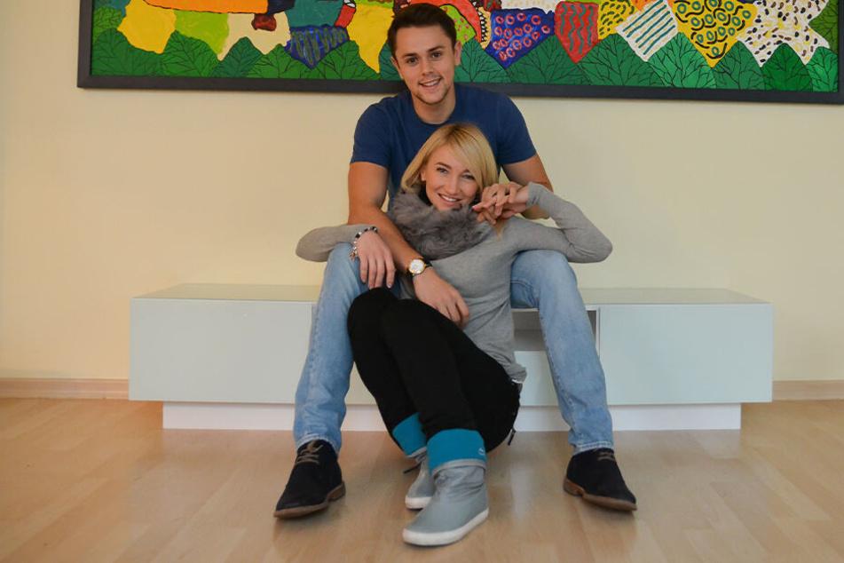 Aljona Savchenko und ihr Mann Liam Cross werden in diesem Jahr zum ersten Mal Eltern.