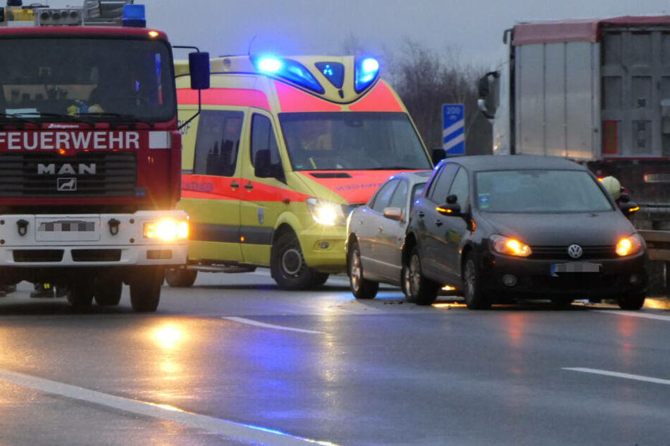 Auf der A14 ist es Mittwochmorgen zu einem Unfall gekommen.