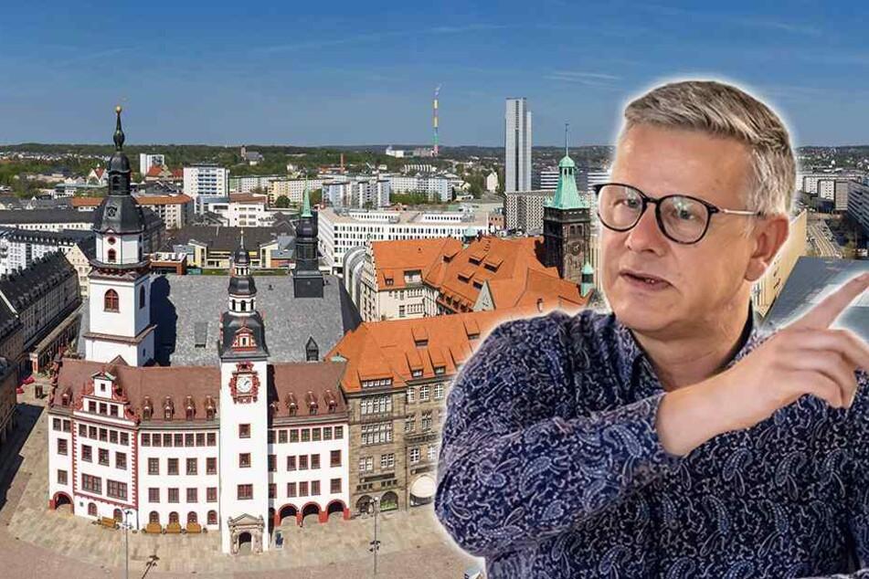 Neuer Stadtsprecher will Chemnitz bunt machen