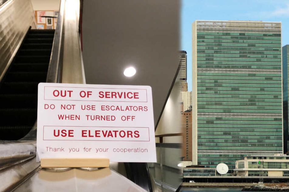 UN in Finanznöten: Jetzt werden sogar die Rolltreppen abgestellt